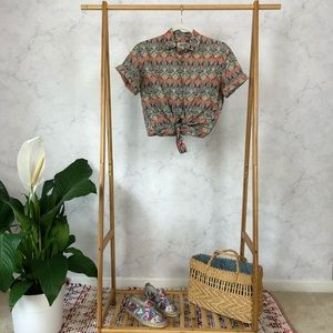 Vintage Liberty of London Floral Button Up Shirt